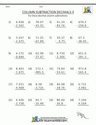 3 digit subtraction worksheets ks2 year 4 practice math column d