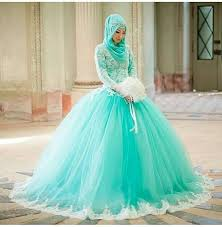 green wedding dresses mint green muslim wedding dresses gown lace appliques