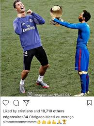 Messi Meme - liked messi meme trolling the barca player about ballon d or