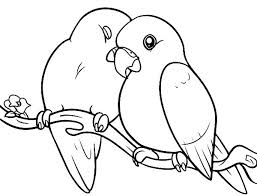 bird coloring pages for toddlers birds coloring pages love birds pered her couple coloring pages