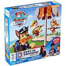 amazon paw patrol pup racers board game toys u0026 games