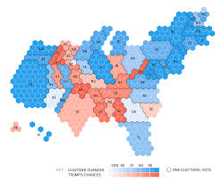 Cartogram Map Cartogram U2013trump U0027s Chances August 11 Musings On Maps