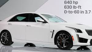 cadillac cts v 0 to 60 2016 cadillac cts v a 640 missile disguised as a sedan