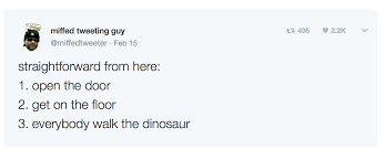 Walk The Dinosaur Meme - 24 trump inspired memes and jokes we ve laughed at while the world