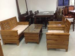 Indoor Teak Furniture Sofas Center Rent Sofa3 Seat Wooden Sofa In Chennai Payrentz Com