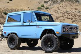 bronco car icon 4x4 is making awesome new versions of the classic ford bronco