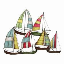 home decor imports inc metal sailboat wall decor nautical decor variations imports