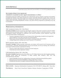 Operations Assistant Resume Senior Executive Assistant Resume Executive Assistant To Senior