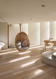 Chair That Hangs From Ceiling Relaxing Alternative To Traditional Seating With Hanging Chair