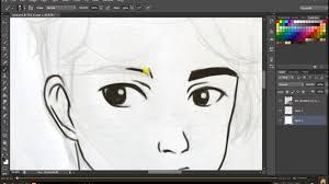Conhecido Desenho na MESA DIGITALIZADORA -ONE by WACOM (photoshop) - YouTube #KW48