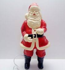 Blow Molded Christmas Decorations Uk by 1950 U0027s Christmas Decorations Ebay