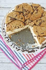 chocolate chip cookie ice cream cake u2013 glorious treats
