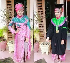 model baju kebaya muslim 20 model terbaru untuk wisuda sederhana modern plus kebaya