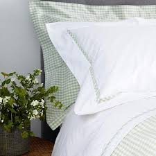 spring green gingham duvet cover green gingham quilt cover