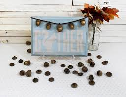Decorative Signs For The Home Golden Acorns