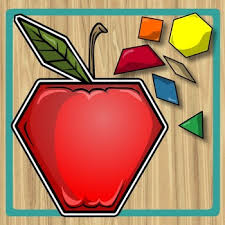 pattern blocks math activities pattern block puzzle apples apples pinterest pattern blocks