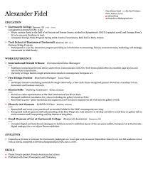 harvard resume template harvard resume template berathen free