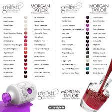 betty nails morgan taylor color chart