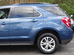 chevrolet equinox blue 2016 used chevrolet equinox fwd 4dr lt at alm roswell ga iid 17344347