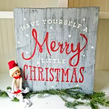 christmas signs christmas in july rustic wood plank sign lazy susan or