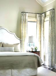 Curtains Corner Windows Ideas Curtains For A Corner Window Clame Co