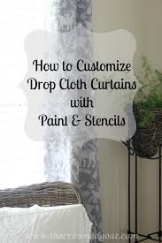 Painting Fabric Curtains Best 25 Painting Curtains Ideas On Pinterest Girls Room