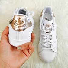 adidas stan smith women adidas shoes stan smith womens rose gold sz 85 new poshmark
