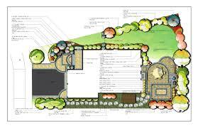 antique 9 garden design drawing on master plan landscape design