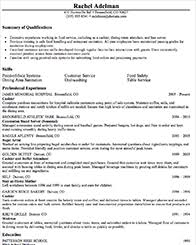 Sample Resume For Kitchen Helper Short Essays On Cars Southwoods Middle Homework Resume