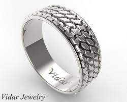 tire wedding rings custom diamonds tire wedding ring vidar jewelry unique custom