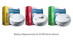 Green Light On Smoke Detector Battery Replacement On Ei Electronics Ei140 Series Alarms