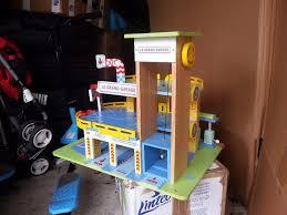 le toy van le grand garage wooden toy garages wooden garage in
