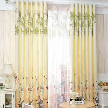 Yellow Nursery Curtains Soft Yellow Zoo Patterned Nursery Curtains