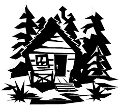 log cabin coloring page free clipart images image 21358