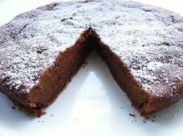 chocolate sweet potato chickpea flour cake sweet dreams