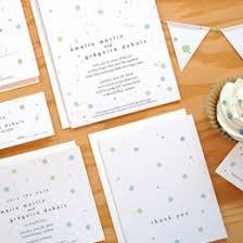 polka dot wedding invitations plantable wedding invitations seed paper favors eco friendly