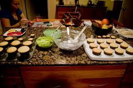 making baking decorating creepcakes