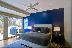 Navy Accent Wall by Blue Walls In Bedroom Descargas Mundiales Com