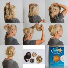 ladies hair pieces for gray hair 24 best hairstyles up dos images on pinterest sock buns bun