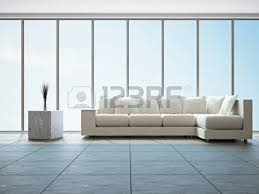 modern minimalist interior of a living room with home furniture