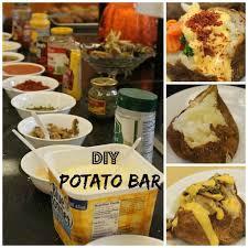 Mashtini Bar Toppings 18 Best Baked Potato Bar Images On Pinterest Baked Potato Bar