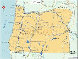 map of oregon state oregon facts and symbols us state facts