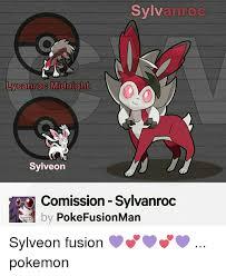 Sylveon Meme - sylvan roc ycanroc midnight sylve on comission sylvanroc by