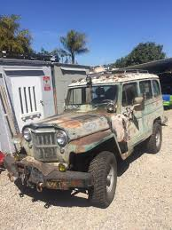 jeep wagon for sale 1956 willys overland wagon v8 283 for sale