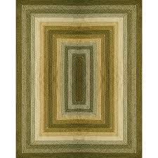 Outdoor Area Rugs Lowes Shop Style Selections Braided Rug Rectangular Indoor Outdoor
