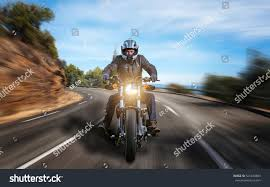 Asphalt by Motorbike On Asphalt Road Stock Photo 521438803 Shutterstock
