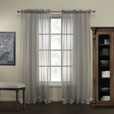Grey Sheer Curtains Striped Neoclassical Grey Sheer Curtains Curtains Decor
