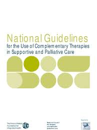 national guidelines for the use of complementary therapies in