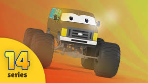 monster truck cartoon videos monster trucks for children monster trucks cartoon kids videos