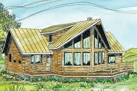 Log Cabin Floor Plans With Loft by A Frame House Plans Aspen 30 025 Associated Designs